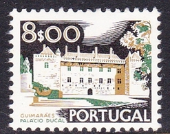 Portugal SG 1457 1972 Buildings And Views, 8e Ducal Palace, Mint Never Hinged - Unused Stamps