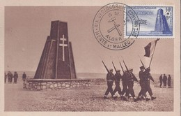 Carte Maximum Bir Hakeim 1952 - Tarjetas – Máxima
