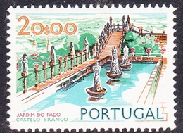 Portugal SG 1459 1972 Buildings And Views, 20e Episcopal Garden, Mint Never Hinged - Unused Stamps