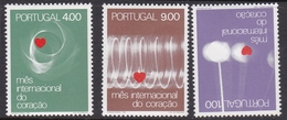 Portugal SG 1467-1467 1972 World Heart Month, Mint Never Hinged - Unused Stamps