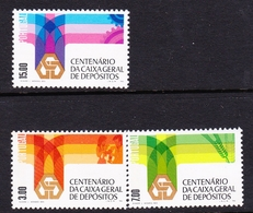 Portugal SG 1625-1627 1976 Centenary National Trust Bank, Mint Never Hinged - Unused Stamps