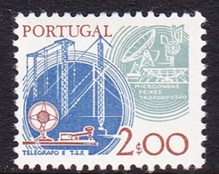 Portugal SG 1686 1978 Work Tools, 2e Communications, Mint Never Hinged - Unused Stamps