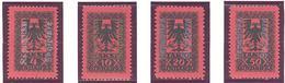 Albanie: Yvert Taxe N° 22/25*; MH - Albanie