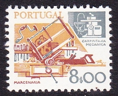 Portugal SG 1694 1978 Work Tools, 8e Carpentry, Mint Never Hinged - Unused Stamps