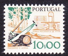 Portugal SG 1696 1978 Work Tools, 10e Saws, Mint Never Hinged - Unused Stamps