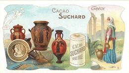 "BEAU CHROMO - SUCHARD - ""LA GRECE"" - TRES BEL ETAT. - Suchard"