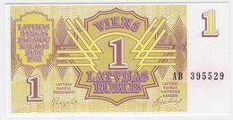 Latvia P 35 - 1 Rublis 1992 - UNC - Latvia