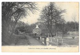 Cpa: 53 Vallée De La Seiche, Près CUILLE (ar. Château Gontier) Ed. Crespin (rare) - Autres Communes