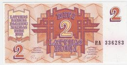 Latvia P 36 - 2 Rubli 1992 - UNC - Lettonia