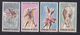 SENEGAL AERIENS N°   68 à 71 ** MNH Neufs Sans Charnière, TB (D7076) Sports, Jeux Olympiques De Mexico - Sénégal (1960-...)