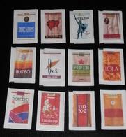 MARQUES DE TABAC- SERIE COMPLETE DE 12 SACHETS DE SUCRES --- SPAIN - Suiker