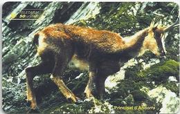 Andorra - STA - Isard Animal - 09.1996, 15.000ex, Used - Andorra