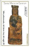 Andorra - STA - Virgen Of Canolich - 05.1997, 100Units, 14.000ex, Used - Andorra