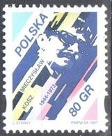 Poland 1997 Mieczyslaw Kosz - Jazz Musician - Mi 3675 - MNH(**) - 1944-.... Republik