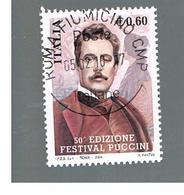 ITALIA REPUBBLICA  -  2004     FESTIVAL PUCCINI        - USATO ° - 1946-.. République