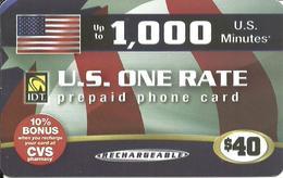 IDT: U.S Minutes - U.S. One Rate - Vereinigte Staaten