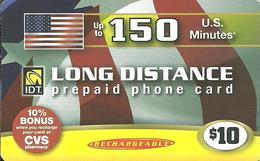IDT: U.S Minutes - Long Distance - Vereinigte Staaten