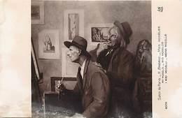 """- Thèmes -ref-X08- Arts - Tableaux - Tableau - Peinture - Peintre H. Breard - """" Mes Modeles """" - Salon De Paris - N°6004- - Peintures & Tableaux"""