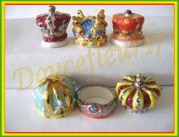 Les Joyaux De La Couronne 1 .... Serie Complète De 6 Feves  ...Ref AFF : 88-2002 ..(pan 0042) - Charms