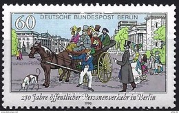 E134- Germany Berlin 1990 - Horse-drawn Carriage. - Germany