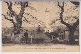 SAINT NAZAIRE : LE PHARE PORTIE SUR LA ROUTE DE SAINT MARC - EDITION NOZAIS NANTES - 2 SCANS - - Saint Nazaire