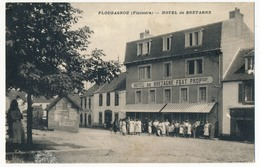 CPA - PLOUGASNOU (Finistère) - Hotel De Bretagne (Etat) - Plougasnou
