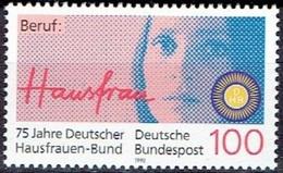E139- GERMANY 1990. 75 Jahre Deutscher Hausfrauen Bund. - Germany