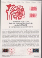 47-81 / Document Premier Jour / Croix Rouge / Audincourt-Argentan / 5 Décembre 1981 - FDC