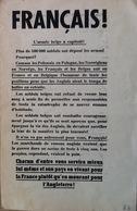 II WW. Panphelet / Brochure Allemande En Français. Contre-information. - Documents