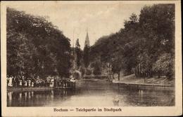 Cp Bochum Im Ruhrgebiet, Teichpartie Im Stadtpark - Deutschland