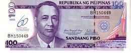 Philippines P.202  100 Piso 2009 Unc - Filippine