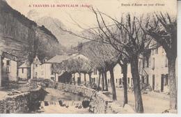 A Travers Le Montcalm ( Ariège ) - Entrée D'AUZAT Un Jour D'Hiver  PRIX FIXE - France