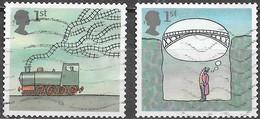 GB - Inventions  - Oblitérés - Lot 1066 - 1952-.... (Elizabeth II)