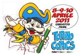 [MD1571] CPM - TORINO COMICS 2011 - LINGOTTO FIERE - 17° SALONE E MOSTRA MERCATO DEL FUMETTO - CON ANNULLO 9.4.2011 - NV - Fumetti