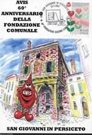 ANNULLO SPECIALE 22.04.2007 - 60° FONDAZIONE SEZIONE COMUNALE/ AVIS - SAN GIOVANNI PERSICETO - 2001-10: Storia Postale