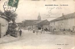 55 - Souhesmes - Vue Générale (animée, J. Bergue Edit. 1910) - France