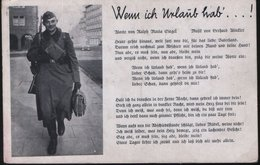 Wenn Ich Urlaub Hab ... ! - Guerre 1914-18