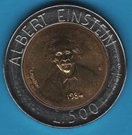 SAN MARINO 500 Lire 1984 KM# 167 Albert Einstein - San Marino