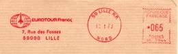 Tourisme, EMA Satas Lille RP - Marcophilie (Lettres)