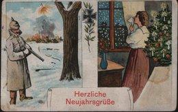 Herzliche Neujahrsgrüße - Guerre 1914-18