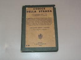 OPUSCOLO LIBRETTO DEL CODICE DELLA STRADA 1951 IN USO POLIZIA CIVILE DI TRIESTE TLT TERRITORIO LIBERO - Books, Magazines, Comics