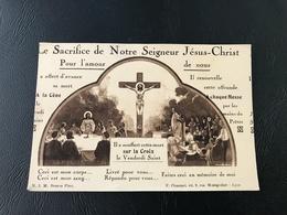 3 - LE SACRIFICE DE NOTRE SEIGNEUR JESUS - Images Religieuses
