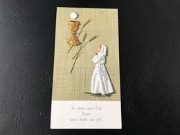 8 - Je Viens Vers Toi Jesus Avec Toute Ma Foi - 1966 Eglise Sainte Marguerite - Images Religieuses