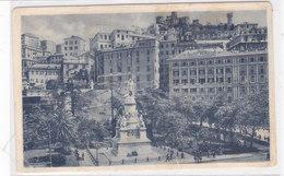 CARD GENOVA PIAZZA ACQUAVERDE HOTEL MAJESTIC HOTEL SAVOIA  -FP-V-2-0882- 28095 - Genova (Genoa)