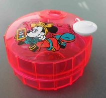 Pink Container: Minnie,Walt Disney. KUM Onit, Germany. Never Used.Temperamatite,Pencil-Sharpener,Taille Crayon,Anspitzer - Altre Collezioni
