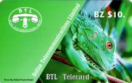 *BELIZE* - Scheda Usata - Belize