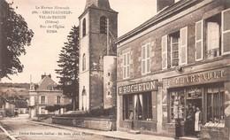 58 - Chateauneuf-Val-de-Bargis - Rue De L'Eglise - Façade De Commerces Magnifiquement Animée - E.BUCHETON - F.CHARRAULT - Other Municipalities
