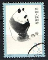 CINA - REPUBBLICA POPOLARE - 1963 - Giant Panda Eating Apples - USATO - 1949 - ... Repubblica Popolare