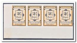 Suriname 1892, Postfris MNH Without Gum, Diverse Plaatfouten In De Zegels ( Different Plate Errors ) - Suriname
