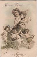 CPA - Carte Illustrateur - Femme - Angelots -viennoise -  A & M.B - 1900-1949